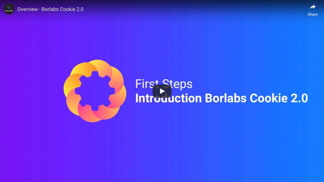 Introduction Borlabs Cookie 2.0